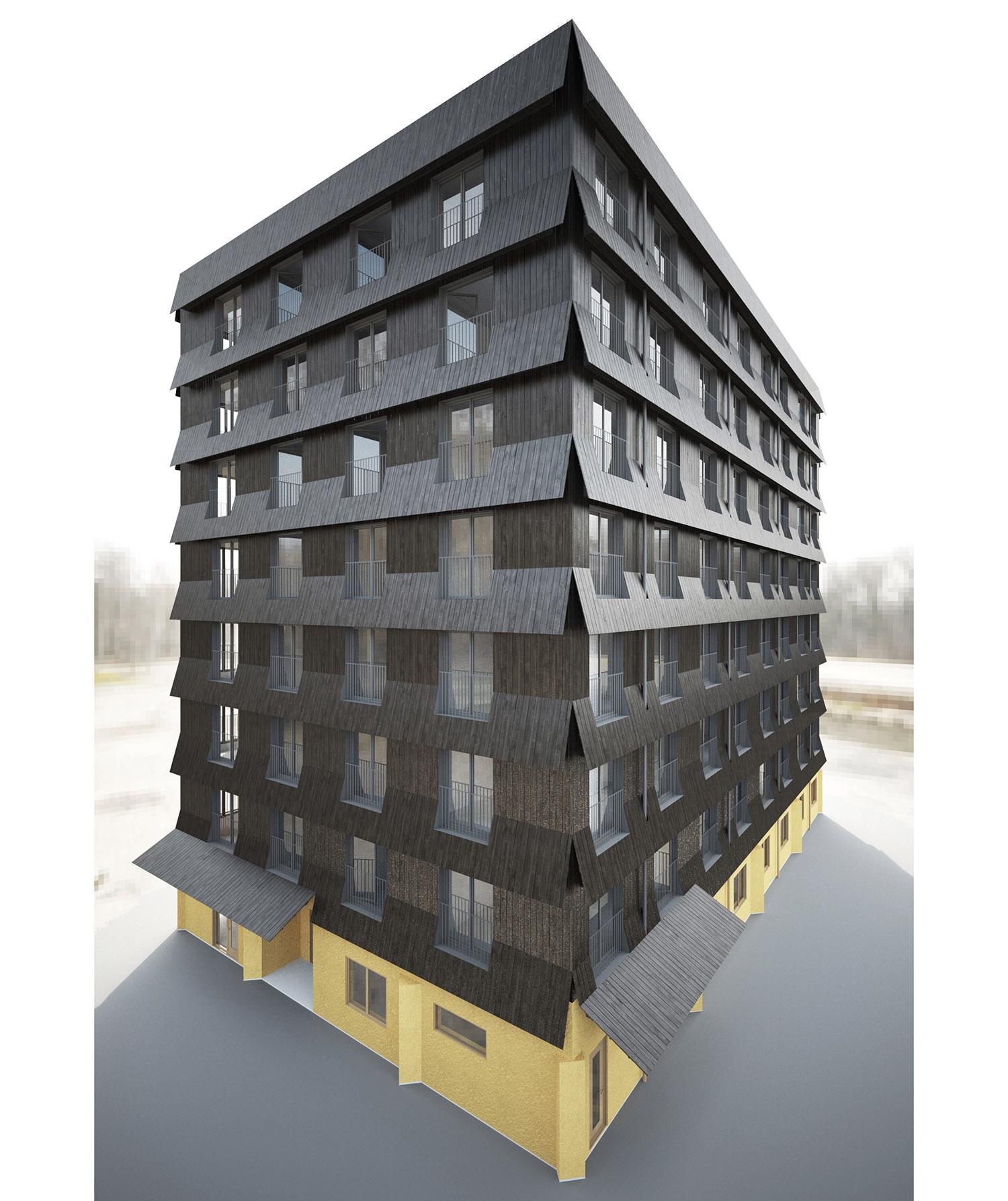 Nock bygger klimatsmarta lägenheter i Gävle
