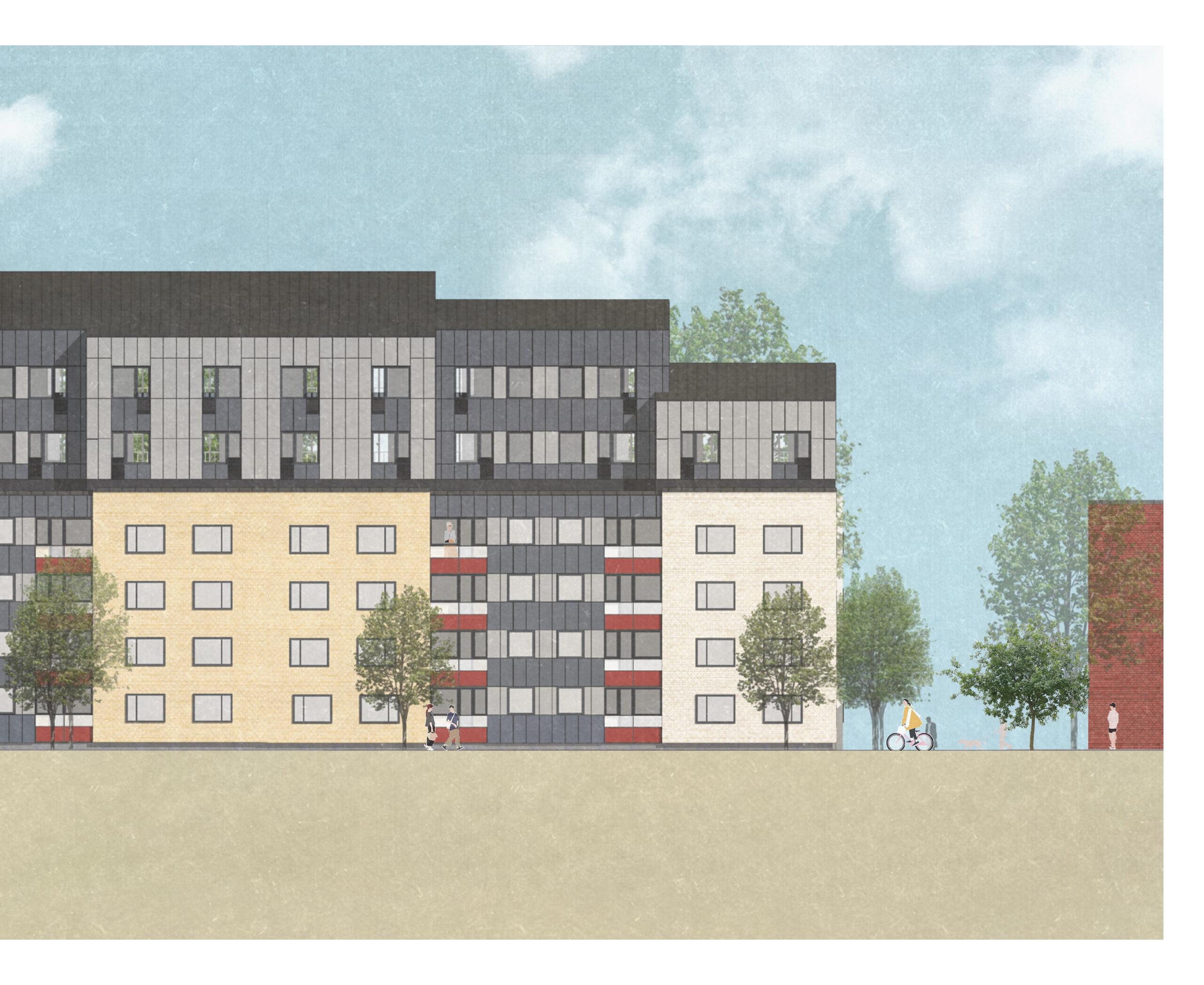 Nock bygger klimatsmarta lägenheter i Uppsala